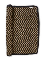 Wave Rug - Black/Natural