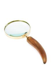 Horn Magnifier - Gold Bubbles
