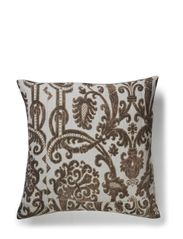 Baroque Cushion Cover - Black