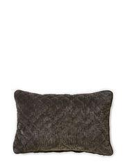 Madame Velvet Cushion Cover - Unblack