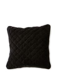 Madame Velvet Cushion Cover - Black