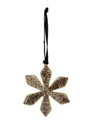 DAY Home Beaded Snowflake Ornament, w/string