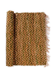 Day Zigzag Rug - nature/moss