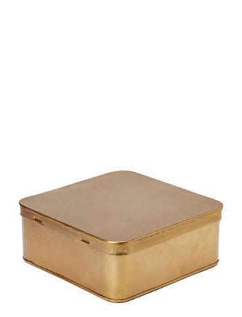 DAY Home Brass box, square