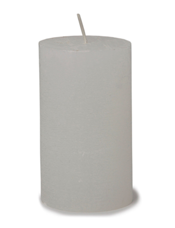Day Candle - white