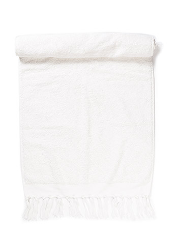 DAY Home Day Fringe Terry Towel - WHITE
