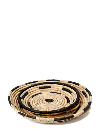 DAY Home Woven Basket Deco Trays, Set of 2
