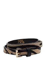 Day Zebra Belt - IVORY