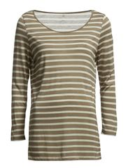 Day Striped Layering - Desert Taupe