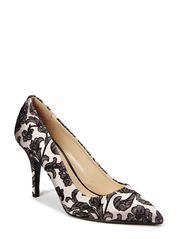 Night Lotus Shoe - Stucco