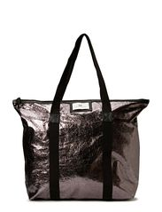 Night Gweneth Metallic Bag - Gun metal