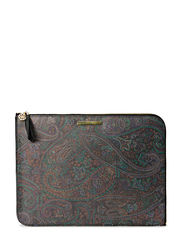 Day Paisley Folder - Black