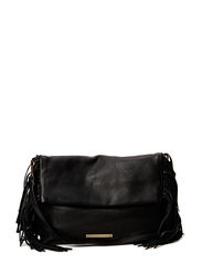 Day Fringes Clutch - Black