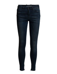 Day Snipe Zip Crop Worn - Indigo Stone Wash