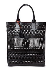 Day Pointelle Tote - Black