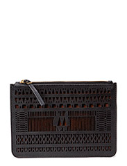 Day Pointelle Clutch - Black