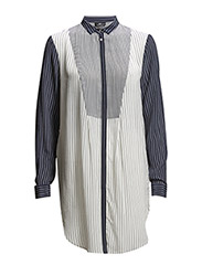 Day Shirty Striped - Suit blue