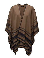 Day Triple Poncho - CAFE