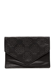 Day Flower Studs Pochette - BLACK