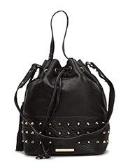 Day Leather Sport Bucket - BLACK