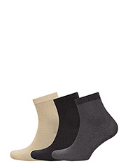 Day Dhoop Ankle Socks - BLACK