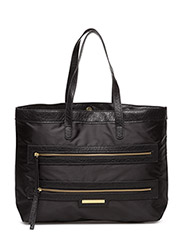 Day Zipper Shopper - BLACK