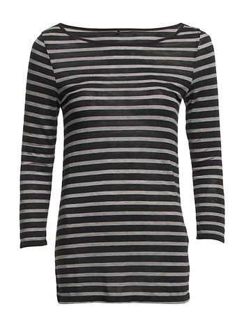 Day Striped Layering - Black