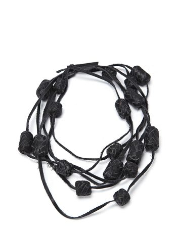 Day Braided Leather - Black