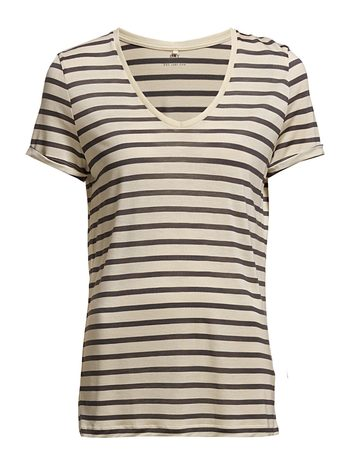 Day Birger et Mikkelsen Day Striped Layering - Seed Pearl
