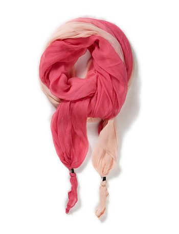 Day Treat Scarf - Dusty Ruby