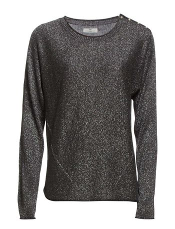 Night Pong Lurex - Dark Grey Mel.