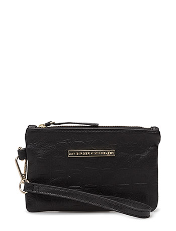 Day Simple Clutch - BLACK