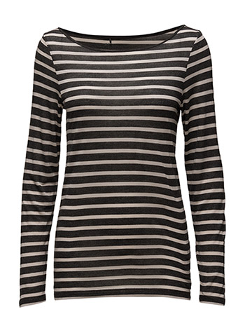 Day Layering Striped - DARK GREY MEL.