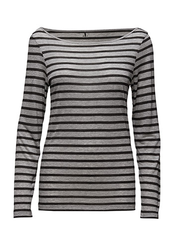 Day Birger et Mikkelsen Day Layering Striped - LIGHT GREY MEL.