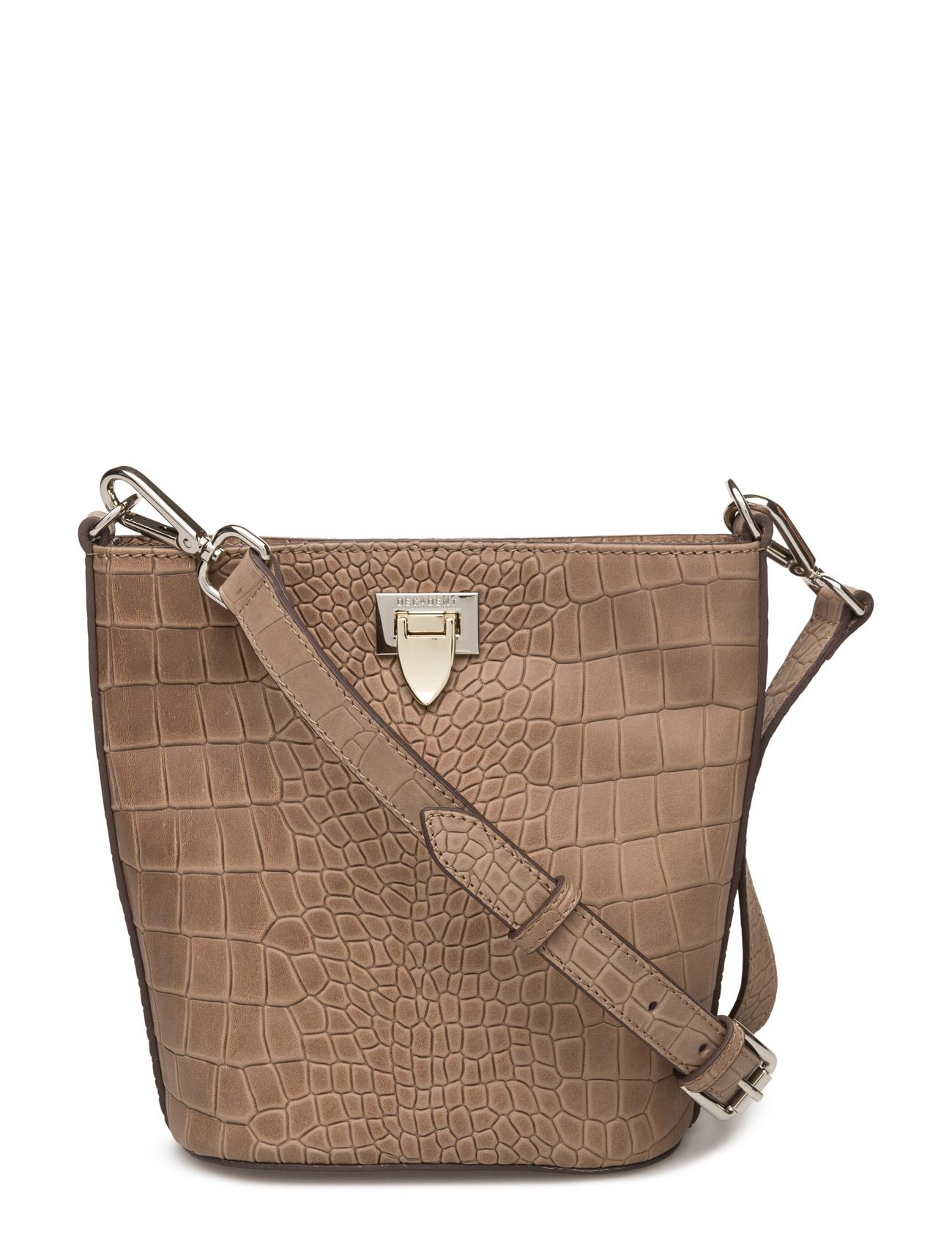 Small Bucket Bag W/Buckle Decadent Skuldertasker til Damer i