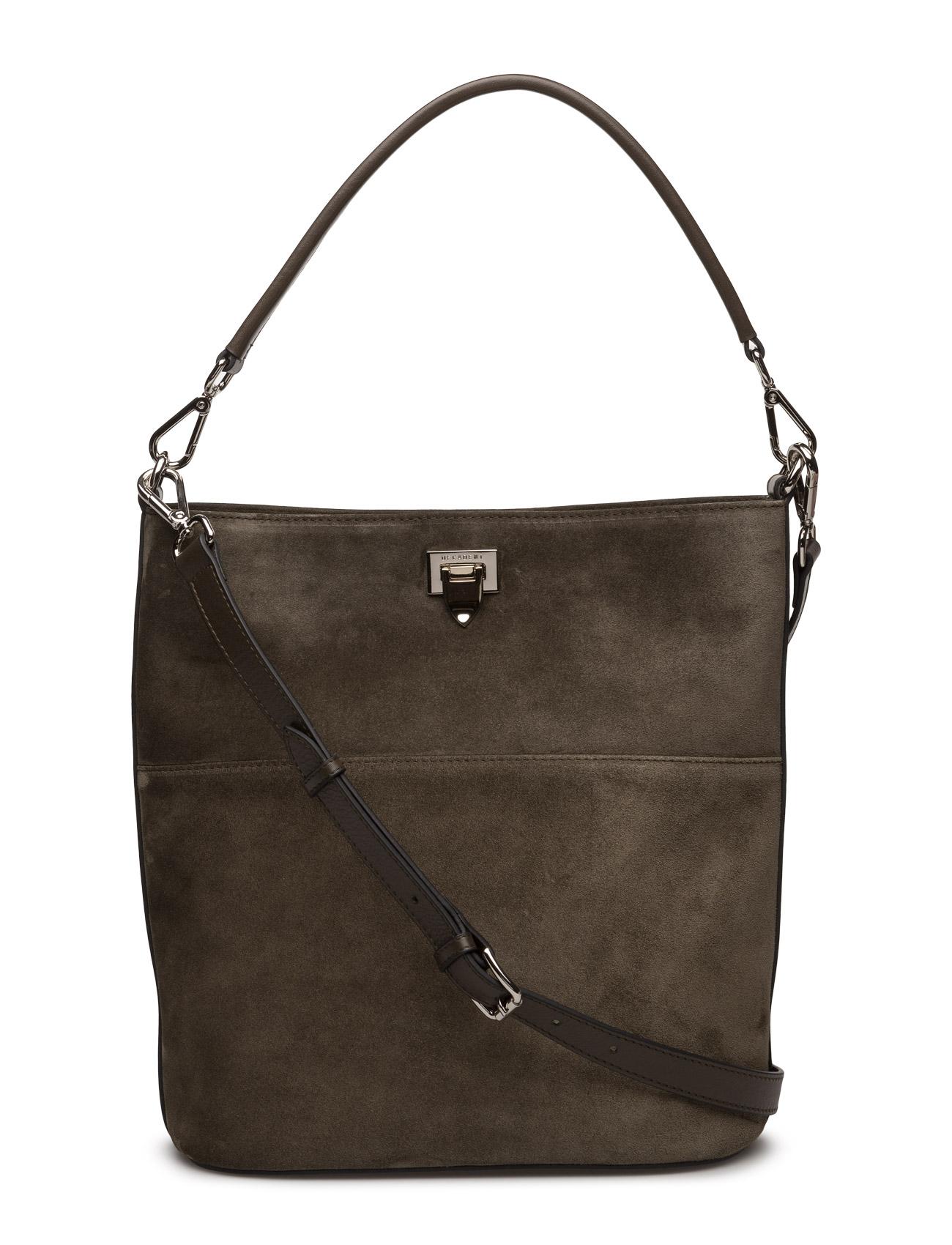Big Bucket Bag W/Buckle Decadent Skuldertasker til Damer i