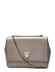 Eira medium bag - METALLIC SILVER