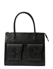 Working Bag Two Pocket - BLACK