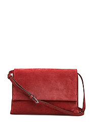 Ophelia ccross body - SUEDE SCARLET RED