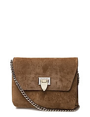 Cleva small pouch - SUEDE LATTE