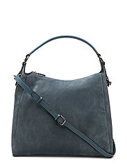 Saga big shoulder - SUEDE DOVE BLUE