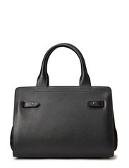 Small Pleated Bag - Black