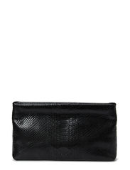Clutch with metal closure - Anaconda black