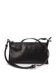 Mini flat cross body - ANACONDA BLACK