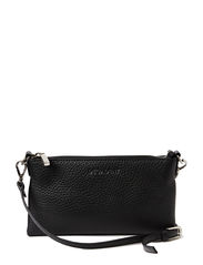 Mini flat cross body - BLACK