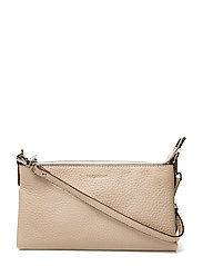 Mini flat cross body - CREAM