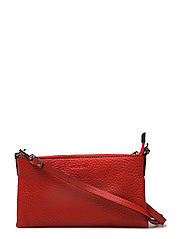 Mini flat cross body - RED