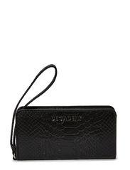 Mobile wallet - ANACONDA BLACK