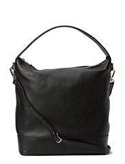 Big plain shoulder bag - Black
