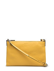 Small flat cross body - VIBRANT YELLOW